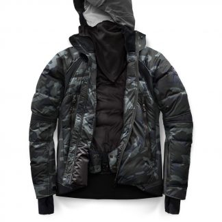 376d26690582 Canada Black Classic Camo Canada Goose Lightweight Down Jackets HyBridge  Sutton Parka Black Label Canada Goose Outlet In New York 2728MB
